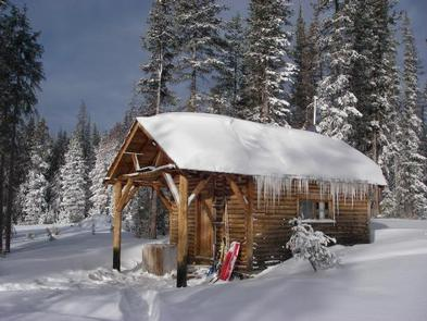 SNOW SURVEY CABIN 22