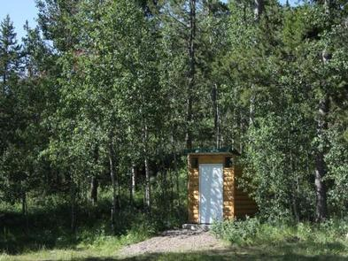 CLEAR CREEK GUARD STATIONOuthouse