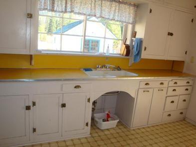 Yellowjacket Guard Station KitchenYellowjacket Guard Station Kitchen (No water available)