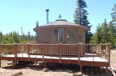 CARTER MILITARY TRAIL YURT