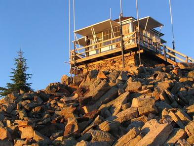 Castle Butte Lookout