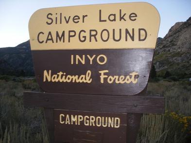 SILVER LAKE CAMPGROUND JUNE LAKE (CA