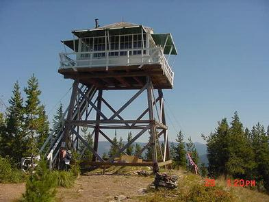 Photo of Arid Peak Lookout
