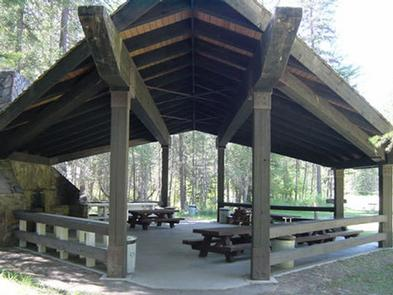 McGillivray Campground (Group Site)Group site shelter