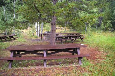 Allred Flats Group Picnic Site
