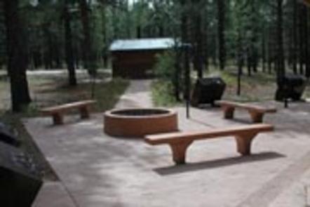 TEN-X CAMPGROUNDGroup site fire pit