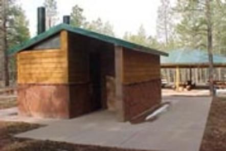 TEN-X CAMPGROUNDVault toilets are cleaned daily and close to sites