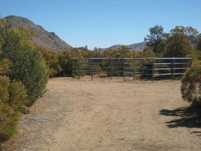 Ribbonwood Equestrian Campground Horse Stalls