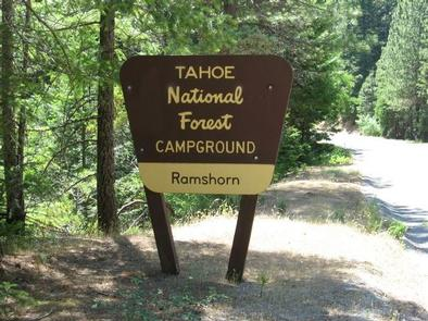 Ramshorn Campground SignEntrance Sign
