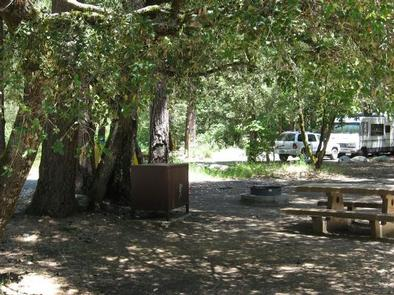 View of CampsitesIndian Valley Campground