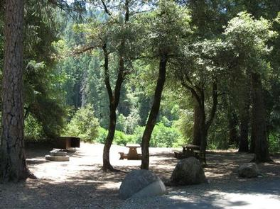 View of SitesIndian Valley Campground