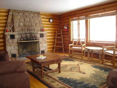 Sunlight Ranger Cabin - Fireplace
