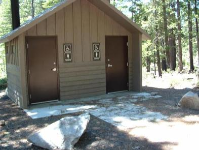 Indian Springs CampgroundVaulted Restroom