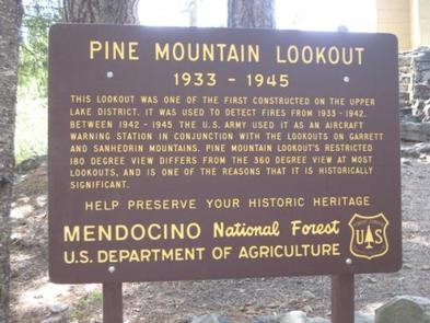 PINE MOUNTAIN LOOKOUT