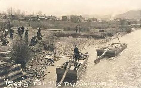 Historic Salmon River Scow Photo
