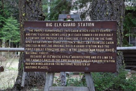 BIG ELK GUARD STATION