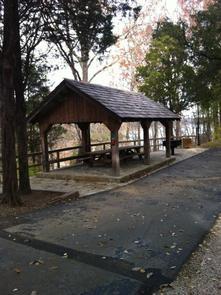 Mill Springs shelterPicnic shelter at Mill Springs Mill