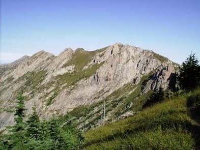 Mount Margaret BackcountryMountain Ridge