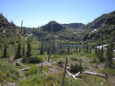 Mount Margaret Backcountry 5Moutain lake