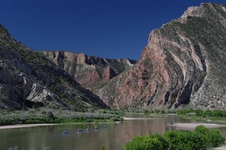 River Rafting in Dinosaur National MonumentRiver in Dinosaur National Monument