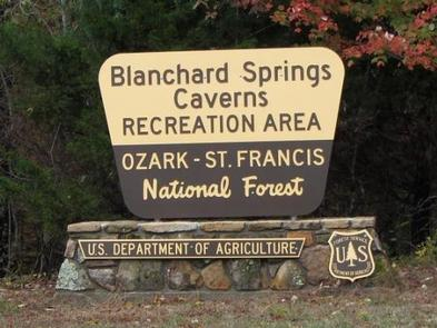 BLANCHARD SPRINGS RECREATION AREA 1BLANCHARD SPRINGS