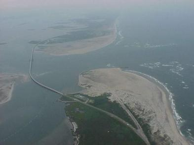 Oregon Inlet from aboveOregon Inlet