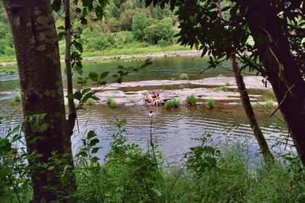 TYEE CAMPGROUND (UMPQUA RIVER)