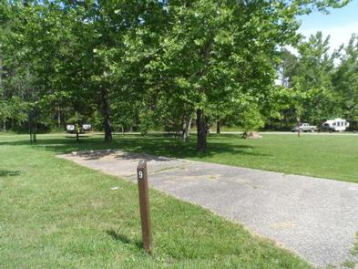 View of the campground