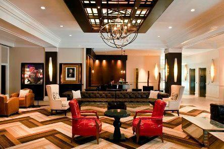 The LobbyHistoric Houston merely steps away, the Sam Houston is the perfect starting point for a getaway to the city.