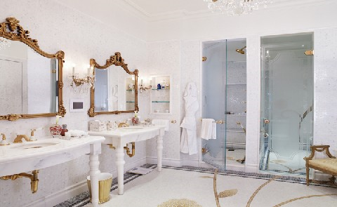 Royal TreatmentThe attention to detail is legendary at The Plaza.  For example, did you know that The Plaza is the first hotel in the world to have 24-carat gold plated Sherle Wagner designed sinks and fixtures in every guestroom?