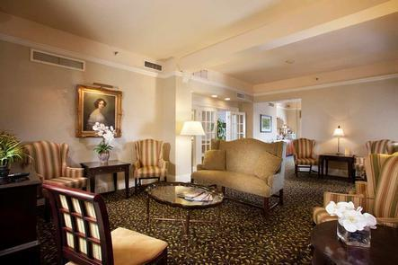 Concierge LoungeWhile stationed with the US Army nearby, F. Scott Fitzgerald spent his weekends enjoying the Seelbach.  Rumor has it he took the character of Gatsby from gangster George Remus, who used to frequent the Louisville hotspot.