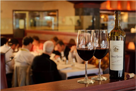 Wine & DineDinner at Portland Prime is the perfect way to end an evening, but if you are on your way out, visit the Complimentary Evening Reception.
