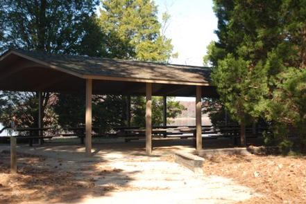 CRESCENT - PICNIC SHELTER FOR LOOP ACRESCENT PICNIC SHELTER.  EACH LOOP HAS OWN SHELTER.