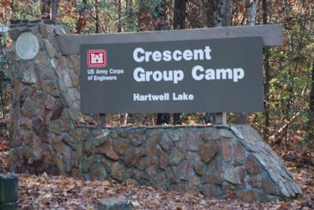 CRESCENT - ENTRANCE SIGN