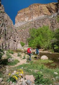 Aravaipa Canyon Wilderness PermitsHikers enjoy Aravaipa Canyon Wilderness.