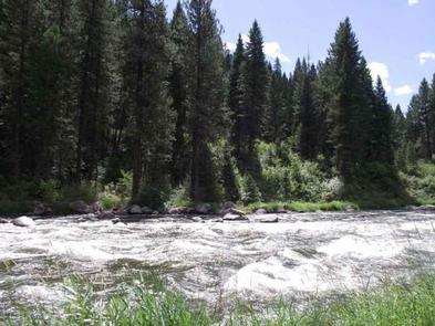 COLD SPRINGS CAMPGROUND - Payette River ViewNorth Fork Payette River