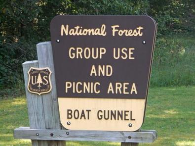 BOAT GUNNEL GROUP CAMPGROUND