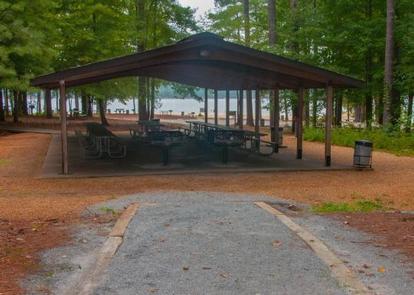 Galt's Ferry Pavilion lookin toward lakeGalt's Ferry Pavilion
