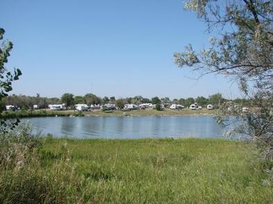 Walleye Loop at East Totten Trail Campground