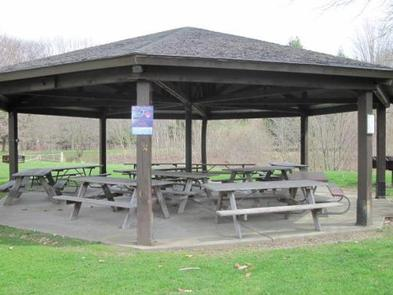 Shenango Lake Mahaney Outflow Riverview Picnic Shelter