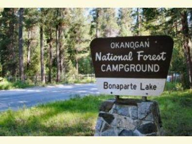 BONAPARTE LAKE CAMPGROUNDBonaparte Lake Campground Sign