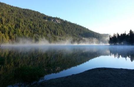 BONAPARTE LAKE CAMPGROUNDBonaparte Lake from Swimming area