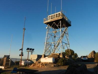 OAK FLAT LOOKOUTOak Flat Lookout Tower