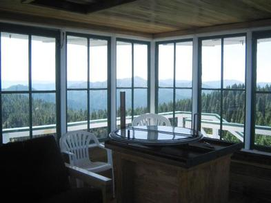 BEAR BASIN LOOKOUT AND CABIN