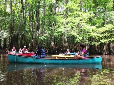 Congaree National Park Ranger-Guided Canoe Tours