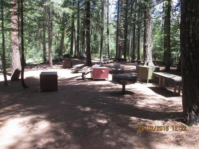 Middle Meadows Group Campground Unit 2Camp Unit 2 kitchen area.
