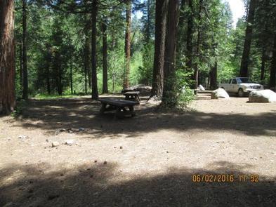 MIDDLE MEADOWS Camp Unit 1.Camp Unit 1 tent area.