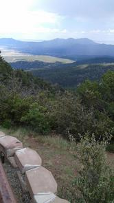 This is a picture of the lookoutLa Madera Canyon Lookout