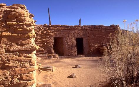Anasazi State Park MuseumOutside the museum, tour a life-sized, six-room replica of an ancient dwelling.