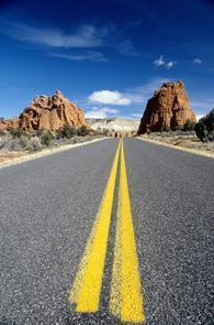 The Road to Kodachrome BasinKodachrome Basin covers 2,240 acres of canyon country and is surrounded by Grand Staircase–Escalante National Monument.
